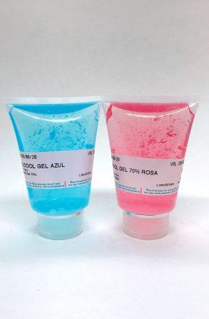 Álcool Gel 70% Colorido
